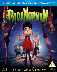 ParaNorman 3D (Blu-Ray 3D, Blu-Ray 2D, DVD, Copia Digital y  Copia UltraViolet)