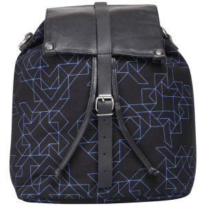 Kate Sheridan Electric Linear Print Rucksack - Multi