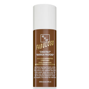 Acondicionador del color castaño para intensificar el color de Evo Fabuloso (250ml)
