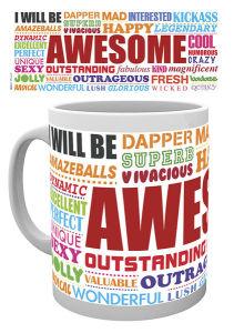 Awesome Words - Mug