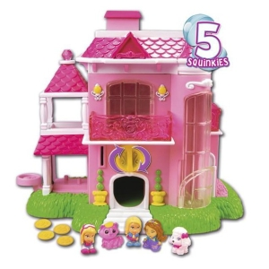 Squinkies Barbie Dream House Playset