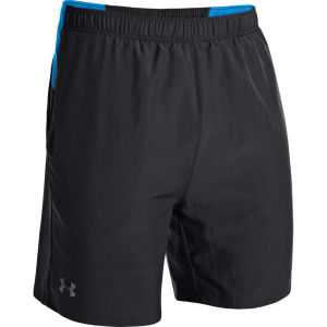 Under Armour Men's Sixth Man 2-in-1 Shorts - Black/Electric Blue/Reflective