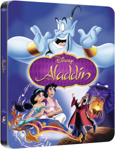 Aladdin - Zavvi Exclusive Limited Edition Steelbook (The Disney Collection #1)