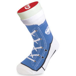Silly Socks Kids' Baseball Boot  - Blue