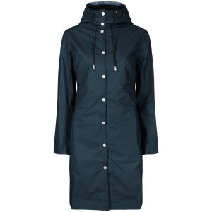 Ilse Jacobsen Women's Raincoat - Petroleum
