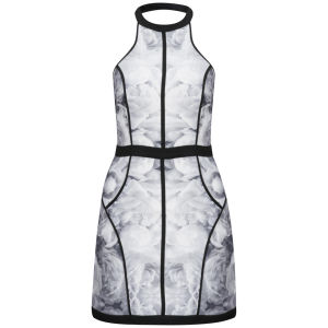 Finders Keepers Women's Winter Birds Dress - Rose Print Monochrome