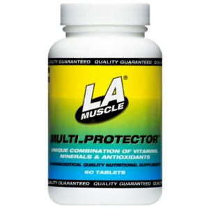 La Muscle Multi Protector Multivitamin Supplement 60 Tabs