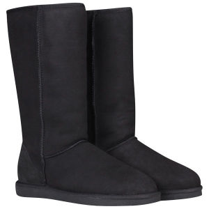 UGG Australia Women's Classic Tall Sheepskin Boots - Black