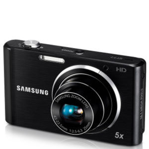 Samsung ST77 Digital Camera (16MP, 5x Optical, 2.7Inch LCD) - Black - USB Charge Only - Grade A Refurb