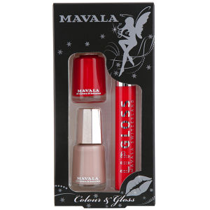 Mavala Colour and Gloss Set 1 - Red