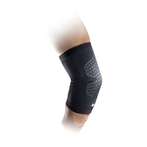 Nike Men's Pro Combat Elbow Sleeve Support - Black
