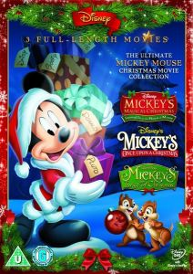 Mickey Triple Mickey's Magical Christmas, Mickey's Once Upon a christmas