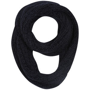 Women's Knitted Snood - Navy