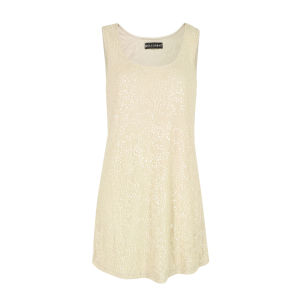 Religion Women's Divine DVD73 Sequin Dress - Parchment