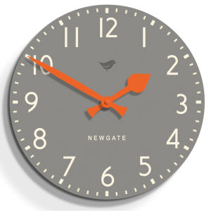 Tock Wall Clock Posh Clock - Grey