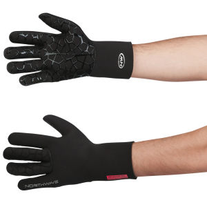 Northwave Neoprene Long Finger Gloves - Black