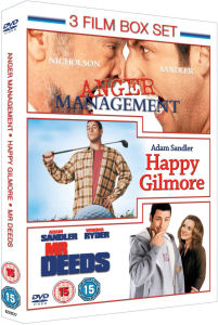 Anger Management / Mr Deeds / Happy Gilmore