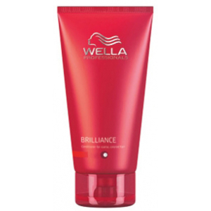 Wella Professionals Brilliance Colour Enhancing Conditioner für krauses, widerspenstiges Haar 200ml
