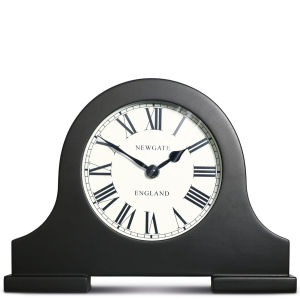 Desk Mantel Clock - Black