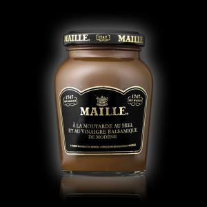 Spécialité à la moutarde au miel et au vinaigre balsamique de Modene