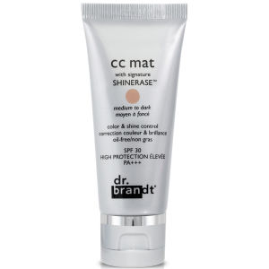 Dr. Brandt CC Matte With Signature Shinerase - Medium To Dark (30g)