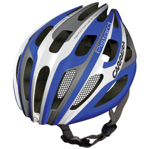Carrera Pistard 2014 Road Helmet with Rear Light - Blue/White