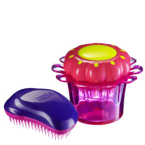 Tangle Teezer Mum and Daughter Original and Magic Flowerpot Purple Duo
