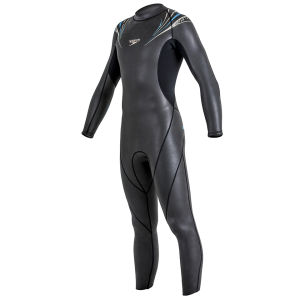 Speedo Men's Comp Full Suit - Black/Yellow/Grey