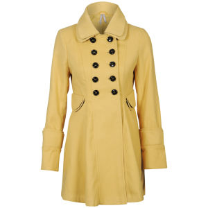 Influence Women's Jacket - Mustard
