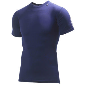 Helly Hansen Men's Dry Stripe T-Shirt - Navy