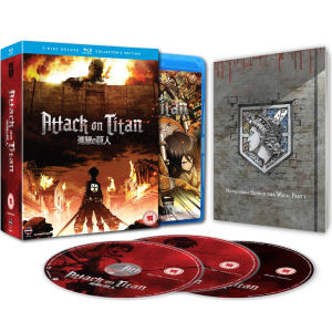 Attack on Titan - Part 1: Episodes 01-13 - Collector's Edition