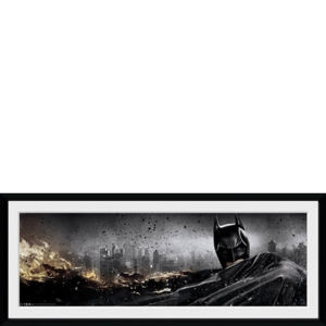 DC Cómics Batman The Dark Knight Rises Action - 30x75 Láminas de Coleccionista