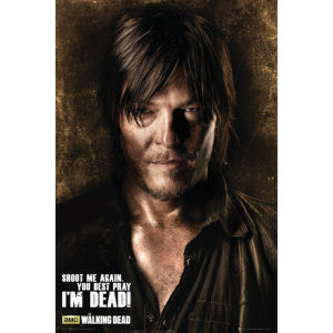 The Walking Dead Daryl Shadows Maxi Poster (61 x 91.5cm)