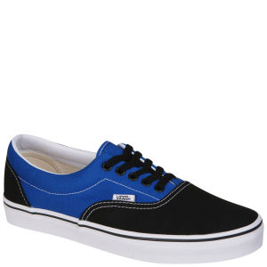 Vans ERA Canvas Two Tone Trainers - Black/Snorkel Blue