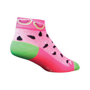 SockGuy Women's Watermelons Cycling Socks