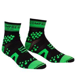 Compressport Pro Racing Socks - Trail - Black/Green