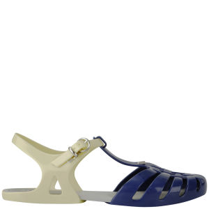 Melissa Women's Aranha Hits 11 Jelly Sandals - Navy Contrast