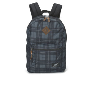 New Balance Check Backpack - Grey Check