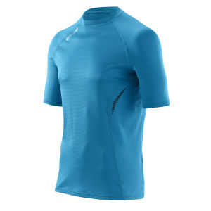 Skins Men's 360 Short Sleeve Tech Process Top - Blue