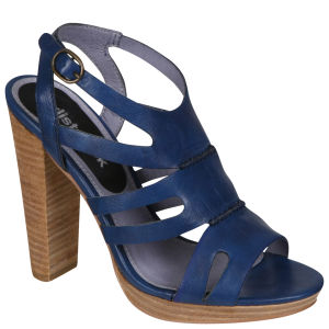 Stylist Pick 'Lyle' Women's Gladiator Heel  - Blue