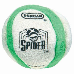 Duncan Spider Footbag - White/Green
