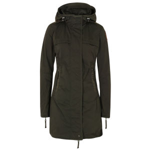 Parajumpers Women's Long Parka Jacket - Olive