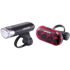 Cateye EL130/TL135 Front and Rear Light Set