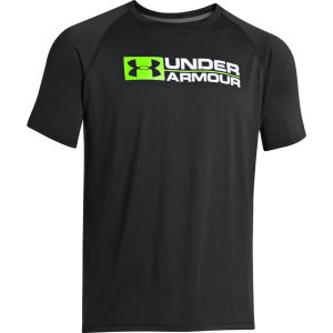 Under Armour Men's Wordmark T-Shirt - Black