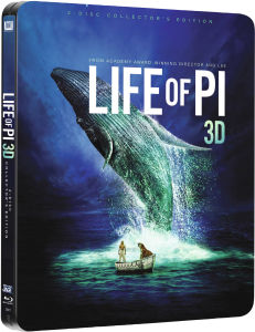 Life of Pi - Schiffsbruch mit Tiger 3D (enthält 2D Version) - Zavvi exklusives Limited Edition Steelbook