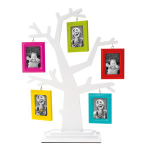 Present Time Family Tree Photo Frame - Assorted Frames