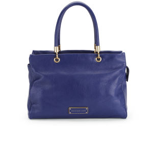 Marc by Marc Jacobs Hardware E/W Leather Tote Bag - Deep Ultraviolet