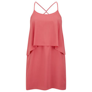 Vero Moda Women's Senna Mini Dress - Coral