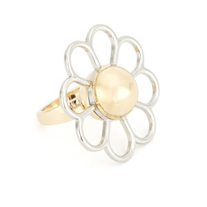 Cheap Monday Women's Daisy Ring - Big Gold