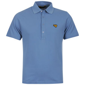 Gola Mens Green Polo Shirt - Lake Blue